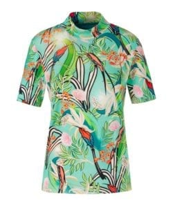 Tops & Shirts-Marc cain collection-QC 48.09 J17--Blauw