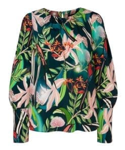 Blouses-Marc cain collection-QC 51.06 W09--Groen