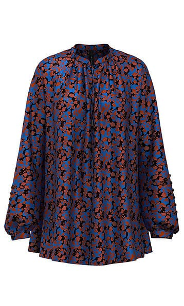 Blouses-Marc cain collection-RC 51.06 W75--Bruin
