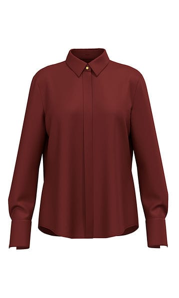 Blouses-Marc cain collection-RC 51.08 W40--Bruin
