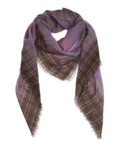 Accessoires-Xandres-SCARF_CHECKMATE--Paars