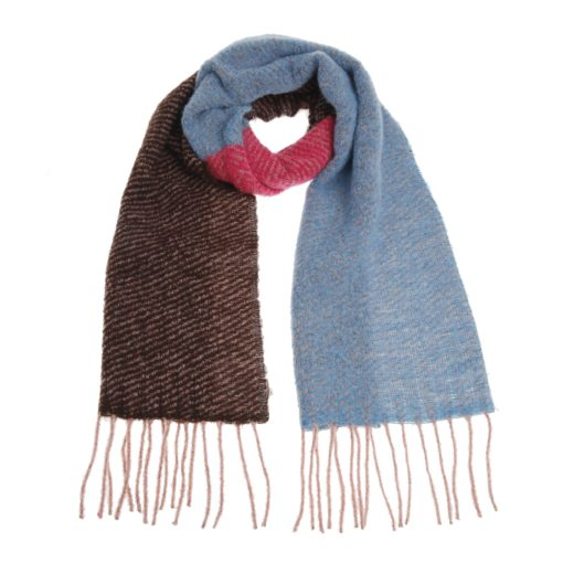 Accessoires-Xandres-SCARF_TRICOL--Blauw