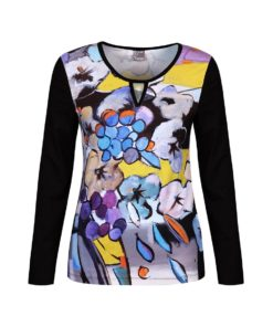 Tops & Shirts-Dolcezza-71640--Paars