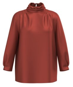 Blouses-Marc cain collection-RC 51.28 W18--Bruin