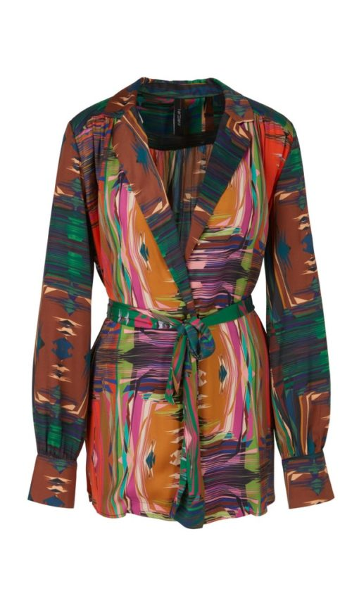 Blouses-Marc cain collection-RC 51.21 W64--Oranje